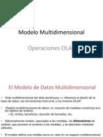 Modelo MultidimensionalOLAP