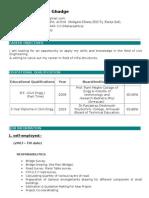 Kunal Resume ..d