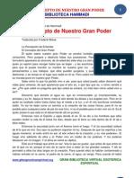 06 04 EL CONCEPTO de NUESTRO GRAN PODER Www.gftaognosticaespiritual.org