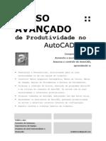 Produtividade No AutoCAD 2007