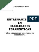 Libro Entrenamiento en Habilidades Terapéuticas. Como mejorar los resultados en psicoterapia