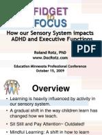 Fidget to Focus Sensory System Impact on ADHD Minnesota