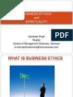 Business Ethics and Spirituality