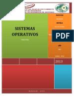 Sistemas Operativos SHELL Carlos Norabuena