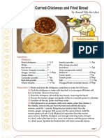 ISKCON desire tree - Spicy Curried Chickpeas And Fried Bread