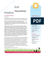 PYP Newsletter May New 2013
