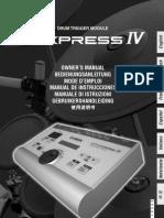 Manual DTX Press IV