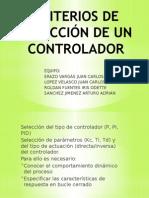 CRITERIOS DE SELECCIÓN DE UN CONTROLADOR.pptx