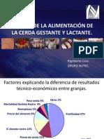 MANEJO DE LA ALIMENTACIÓN DE LA CERDA GESTANTE