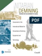 Landmines Technology Report