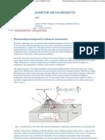 International Multi-Sensor Mine Signature Measurement