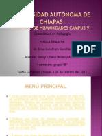 Presentacion de Politica Educativa Siglo XIX