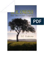 Holiness Our Doctrinal Legacy