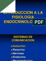 Mecanismo de Accion Endocrina