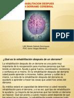 Rehabilitacion Despues de Un Derrame Cerebral
