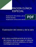 EXPLORACION CLÍNICA ESPECIAL