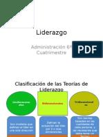 Clasificación de la Teorías del Liderazgo