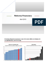 Reforma Financiera-Presentación