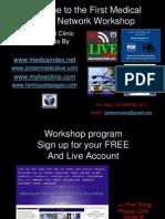 MedicsIndex First Medical Social Training Workshop and user quick help 2013 myliveclinic dot com