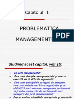 F01 Problematica managementului
