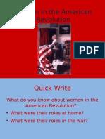 Women in the American Revolution