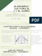 Relacion E-D Concreto y Acero
