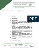 Pma-001 Gestion Ambiental