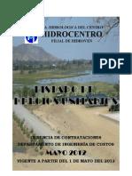 Hidroven Listado de Precios Mayo 2012