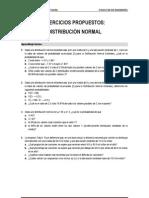 2. Ejercicios Distribucion Normal