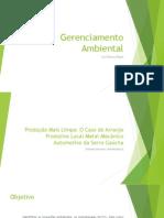 Gerenciamento Ambiental - Metal Mecânica Serra Gaúcha