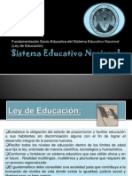 Diapositivas de Sistema Educativo..