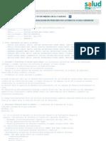Elaboracion de Guia de Recomendaciones de Prescripcion Antibiotic