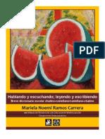 Mariela Ramos Carrera. Breve diccionario escolar chatino castellano.pdf