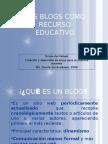 Los Blogs Como Recurso Educativo