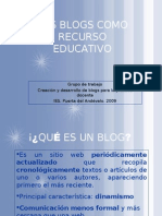 Los Blogs Como Recurso Educativo