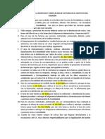 2013. PROCEDIMIENTO FACTURAS. Marzo 26
