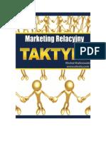 Marketing Relacyjny - Taktyki