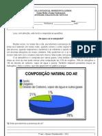 AVALIAÇÃO DE CIÊNCIAS - 2o BIMESTRE - 2011