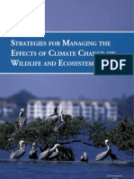Strategies for Managing the Effects of Climate Change on Wildlife and Ecosystems
