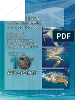 Cooperando para la Conservación de Tortugas Marinas. 10 años de la CIT