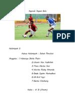 Sejarah Sepak Bola ( Tasya )