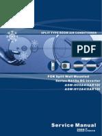 ASW-H09A4SAR1DI ASW-H12A4SAR1DI 12000 R410a DC Inverter User Service Manual