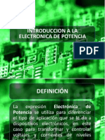 Introduccion Electronica de Potencia