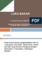 Kuliah Luka Bakar. FK UNLAM
