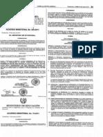 Acuerdo Ministerial 025-2011 (Gratuidad de Educacion)