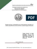 Estudio químico y Petrográfico del yacimiento de Niquel ubicado en Loma de Hierro, Estado Aragua-Venezuela_Jorge Pirela
