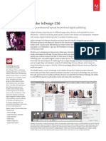 Adobe InDesign CS6 Brochure