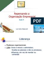 Aula 4 Repensando a Organizacao Empresarial