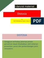 Distosia ppt