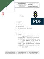PYC-0164 REVISIÓN PRUEBA Y MANTTO PREVENTIVO DE LOS SISTEMAS DE ASPERSORES CONTRAINCENDIO